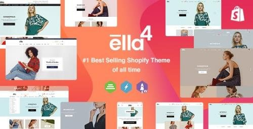 ThemeForest - Ella v4.2.0 - Multipurpose Shopify Sections Theme - 9691007