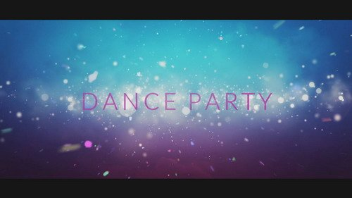 Проект ProShow Producer - Dance Party