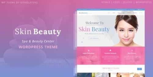 ThemeForest - Skin Beauty v1.3.2 - Spa WordPress - 11531537