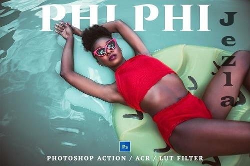 18 Phi Phi Photoshop Action, Lut Filter, Acr Presets - 1314340