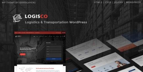 ThemeForest - Logisco v1.0.7 - Logistics & Transportation WordPress - 23075275