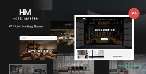 ThemeForest - Hotel Master v4.1.2 - Booking WordPress - 11032879