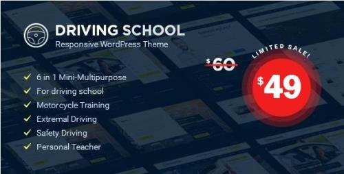 ThemeForest - Driving School v1.4.6 - WordPress Theme - 20616993