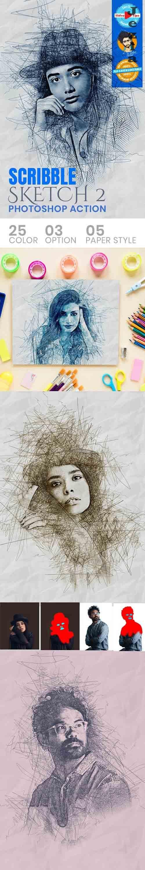 GraphicRiver - Scribble Sketch PHSP Action 31050617