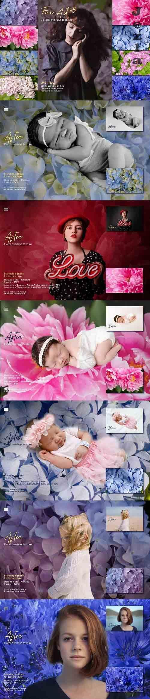 Fine Art Floral Natural Textures #5 - 6084534
