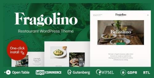 ThemeForest - Fragolino v1.0.5 - an Exquisite Restaurant WordPress Theme - 23550682