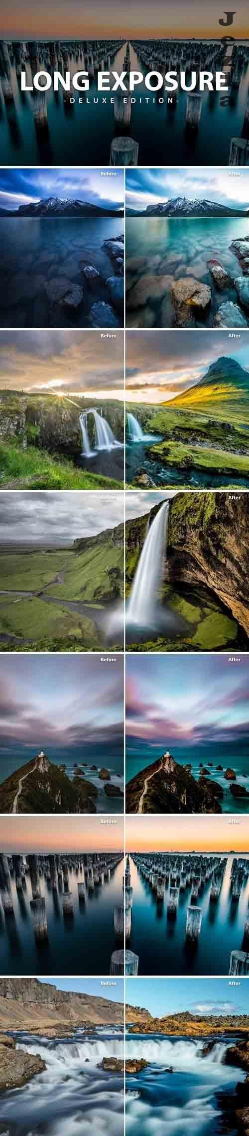 Long Exposure | Deluxe Pack for Mobile and Desktop