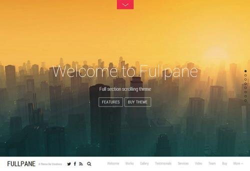 Themify - Fullpane v5.2.6 - WordPress Theme
