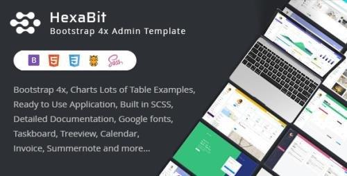 ThemeForest - HexaBit v1.4.0 - Responsive Bootstrap Admin Template & UI KIT - 22611789