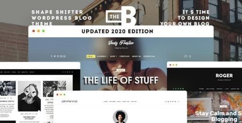 ThemeForest - TheBlogger v2.1.2 - WordPress Theme - 15832662