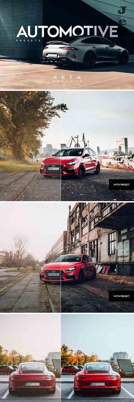 ARTA Automotive Presets For Mobile and Desktop