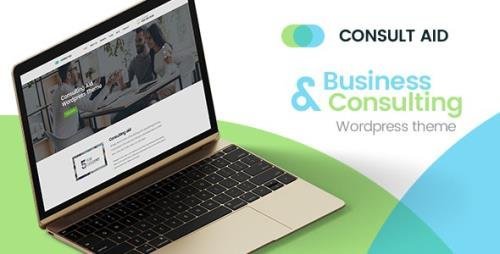 ThemeForest - Consult Aid v1.4.2 - Business Consulting And Finance WordPress Theme - 19500419