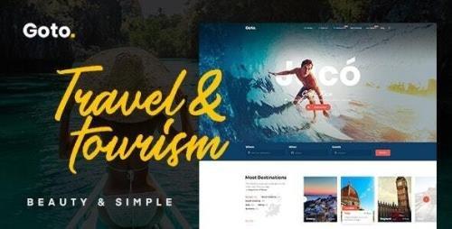ThemeForest - Goto v2.1 - Tour & Travel WordPress Theme - 21822828