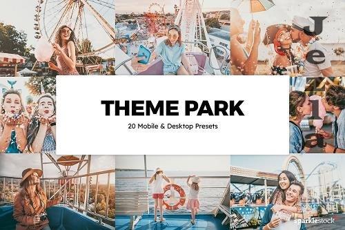20 Theme Park Lightroom Presets LUTs - 6086209
