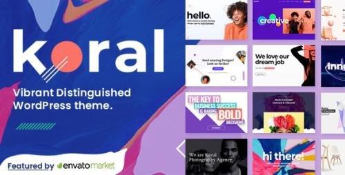 ThemeForest - Koral v1.8 - Multi-Concept WordPress Theme - 24192948