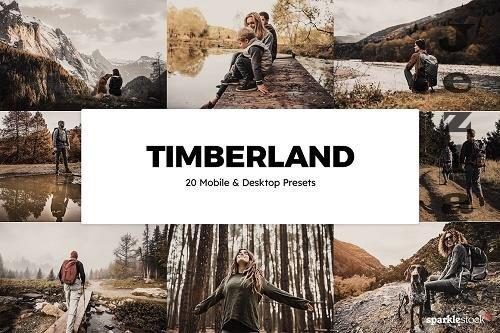 20 Timberland Lightroom Presets LUTs - 6088734