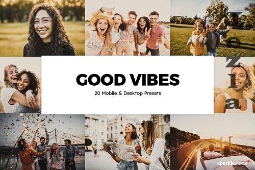 20 Good Vibes Lightroom Presets - 6091972