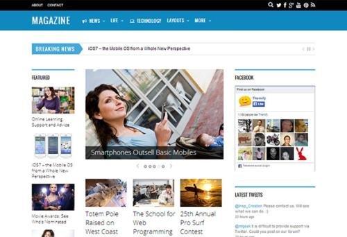 Themify - Magazine v5.2.3 - News WordPress Theme