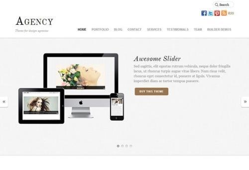 Themify - Agency v5.2.3 - WordPress Theme
