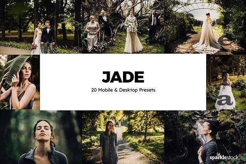 20 Jade Lightroom Presets & LUTs - 6098505