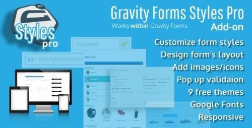CodeCanyon - Gravity Forms Styles Pro Add-on v2.6.5 - 18880940