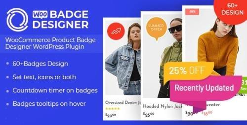 CodeCanyon - Woo Badge Designer v3.0.8 - 23995345