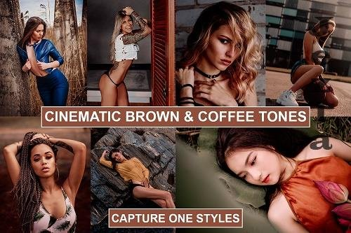 Cinematic Brown Film tones Styles for Capture One - 1329783