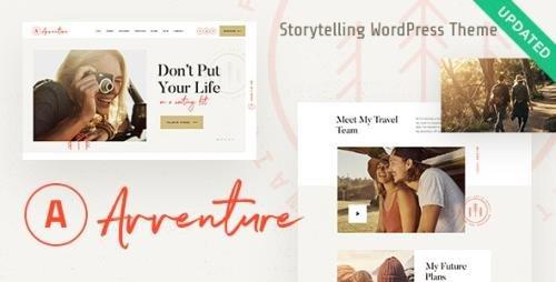 ThemeForest - Avventure v1.1.3 - Personal Travel & Lifestyle Blog WordPress Theme - 22837301