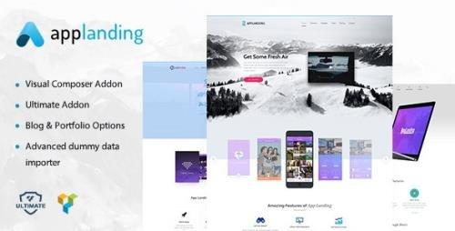 ThemeForest - App Promotion v1.8 - One Page App Landing Promotion Theme - 18600158