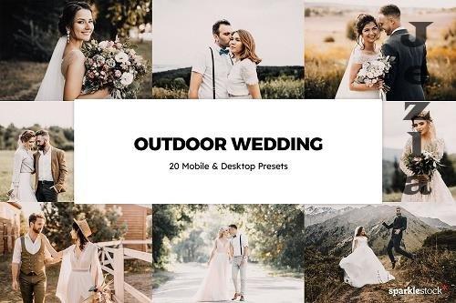 20 Outdoor Wedding Lightroom Presets - 6102790