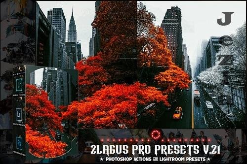 PRO Presets - V 21 - Photoshop & Lightroom