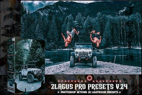PRO Presets - V 24 - Photoshop & Lightroom