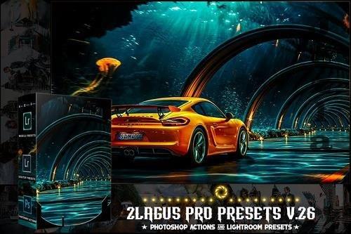 PRO Presets - V 26 - Photoshop & Lightroom