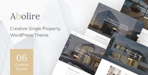 ThemeForest - Abolire v1.0.13 - Single Property WordPress Theme - 24804381