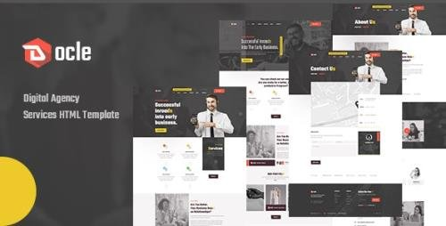 ThemeForest - Docle v1.0 - Agency Services HTML Template - 31542182