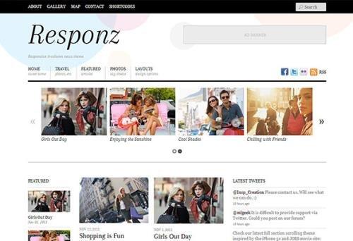 Themify - Responz v5.2.3 - Magazine WordPress Theme