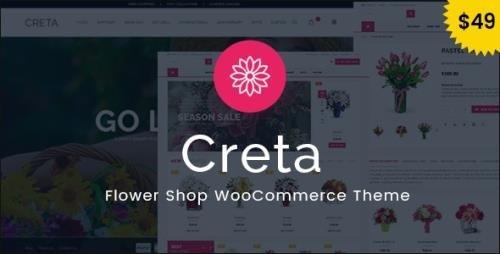 ThemeForest - Creta v5.3 - Flower Shop WooCommerce WordPress Theme - 15113785