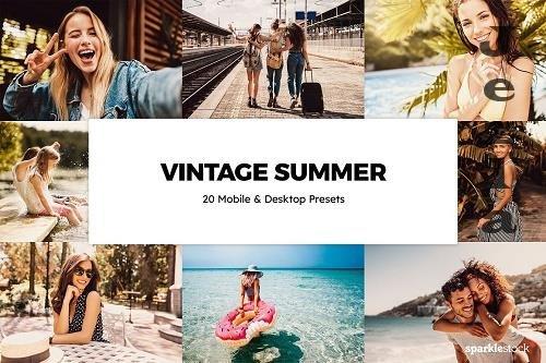 20 Vintage Summer Lightroom Presets - 6117058