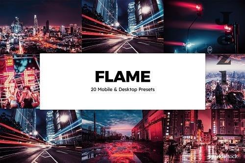 20 Flame Lightroom Presets & LUTs - 6118426
