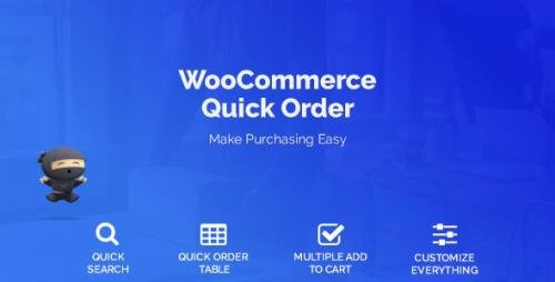 CodeCanyon - WooCommerce B2B Quick Order v1.4.1 - 21947541