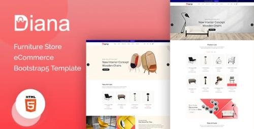 ThemeForest - Diana v1.0 - Furniture Store eCommerce Template - 31671138