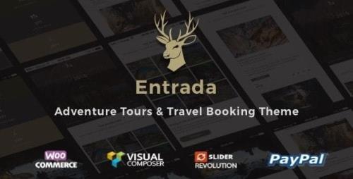 ThemeForest - Entrada v4.4.7 - Tour Travel Booking WordPress Theme - 16867379