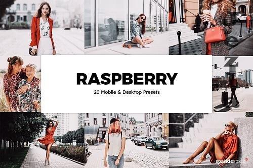 20 Raspberry LRM Presets LUTs - 6119516