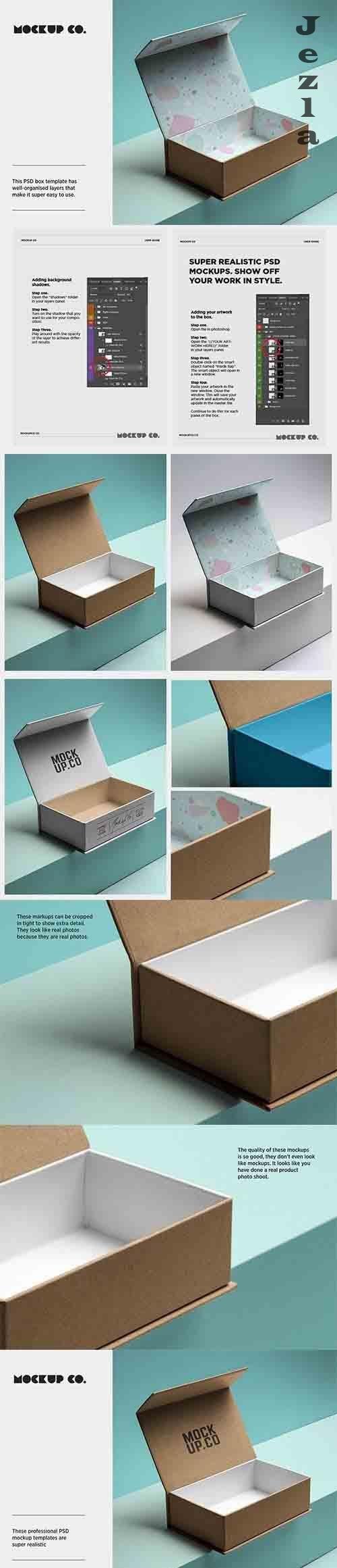 CreativeMarket - Premium Box Mockup 5996635