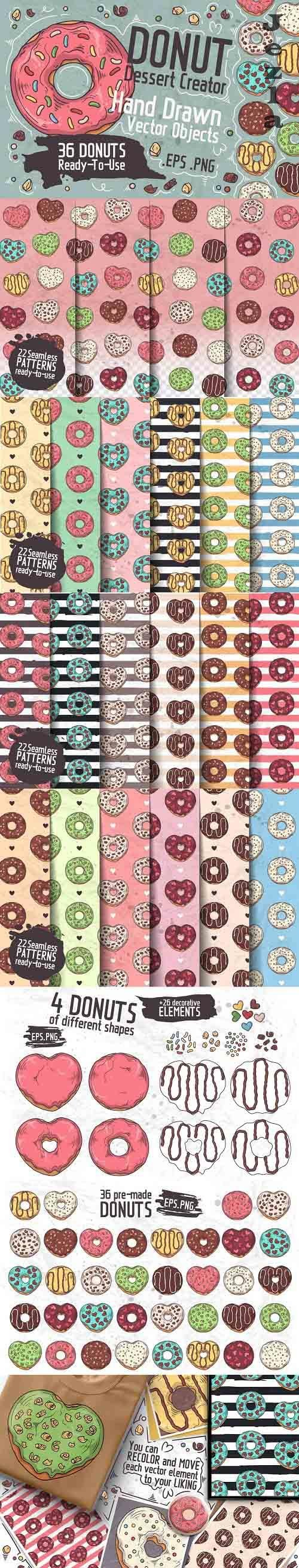 Donut Dessert Creator - 1345925