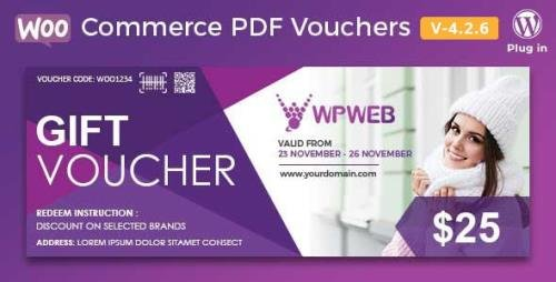 CodeCanyon - WooCommerce PDF Vouchers v4.2.12 - WordPress Plugin - 7392046