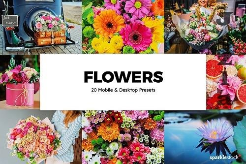 20 Flowers LRM Presets & LUTs - 6123554