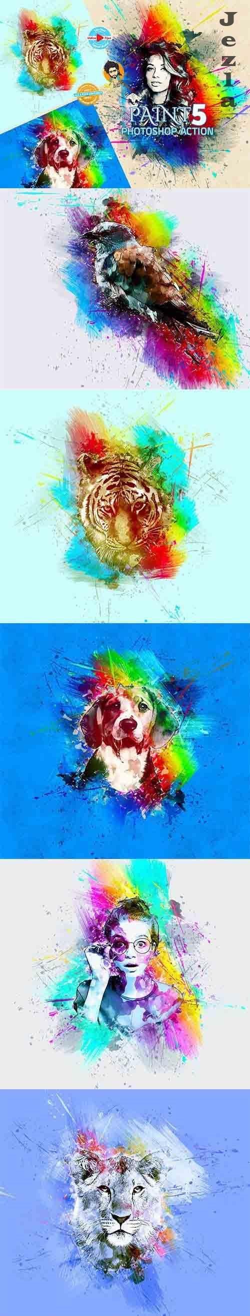 CreativeMarket - Paint PHSP Action 6102268