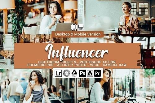 Influencer LRM Presets - 5157299