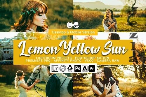 Lemon Yellow Sun LRM Presets - 5157303